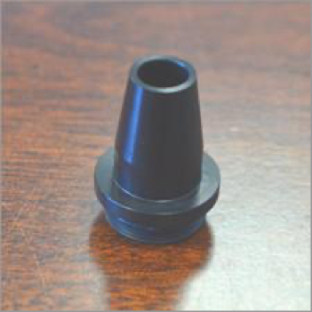 image of the wide nozzle option available on Kerns S-FOCUS optic assemblies