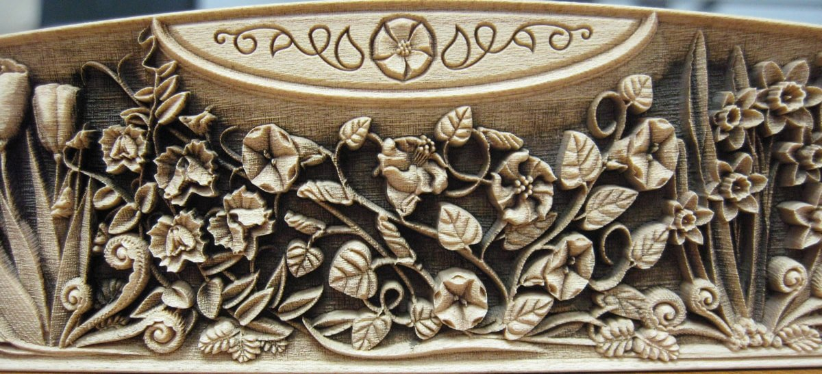 engraved wood